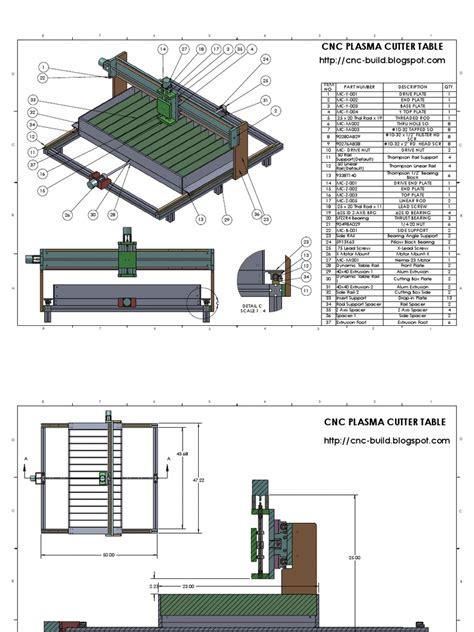 Cnc-Plasma-Table-Plans