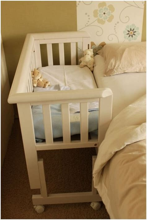 Co Sleeper Attach To Bed DIY