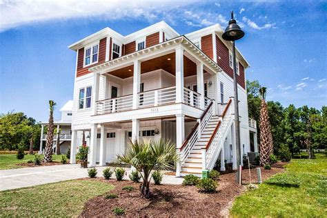 Coastal Raised House Plans