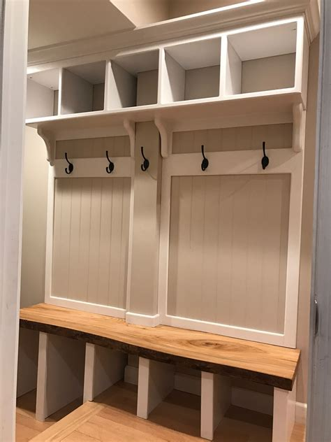 Coat Locker With Bench Plans Woodworking