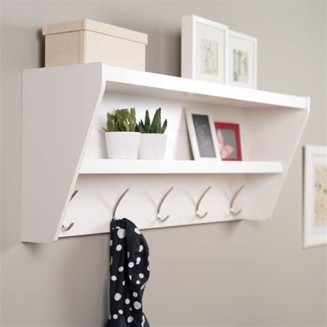 Coat-Rack-With-Floating-Shelf-Plans