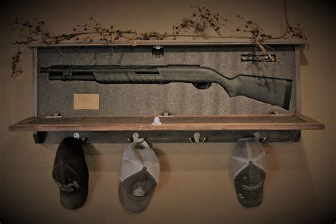 Coat-Rack-With-Gun-Storage-Plans