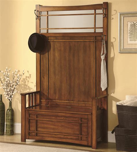 Coat-Rack-With-Storage-Bench-Plans