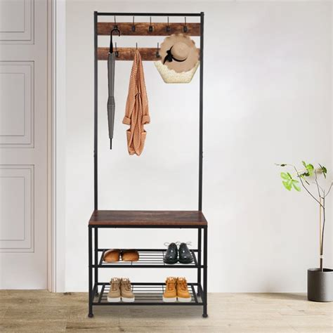 Coat-Stand-And-Shoe-Rack-Plans