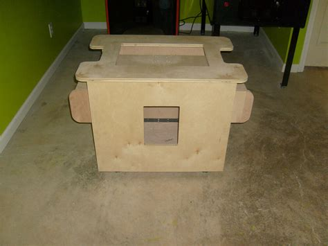 Cocktail Arcade Cabinet DIY
