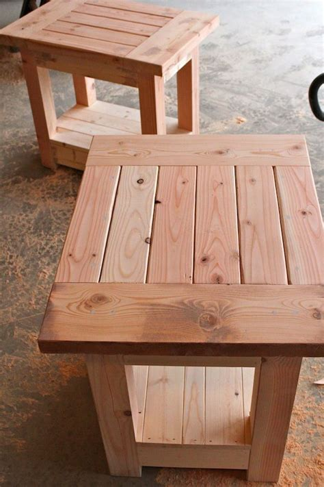 Coffee Table And End Tables Plans