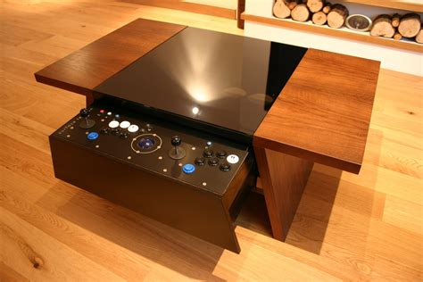 Coffee Table Arcade Machine Plans
