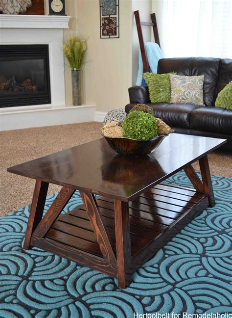 Coffee Table Bench Diy