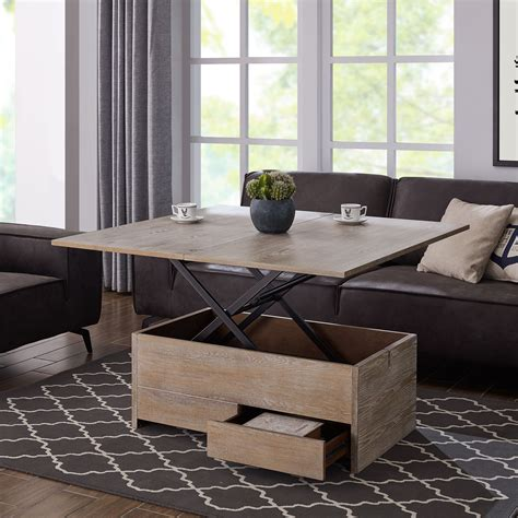 Coffee Table Convertible Dining Table