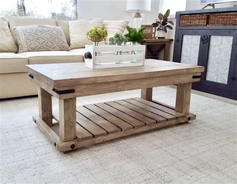 Coffee Table Desk Diy Plans