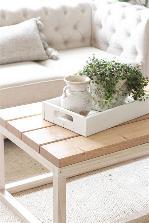 Coffee Table Diy Easy