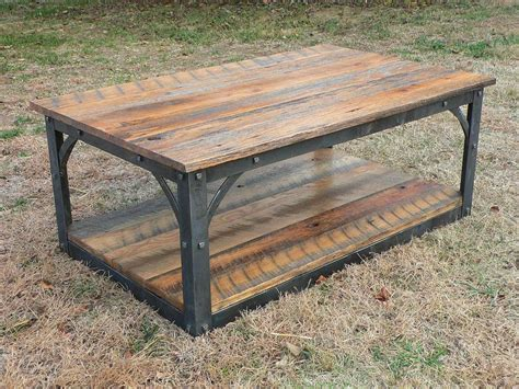 Coffee Table Iron And Wood Plans