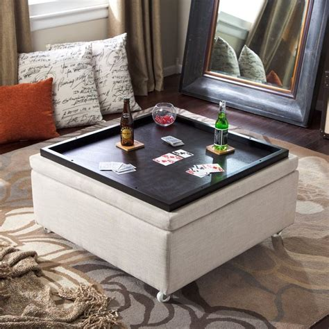 Coffee Table Storage Ottoman Diy Plans