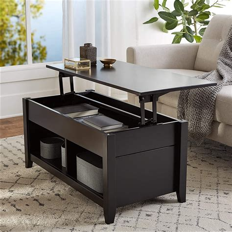 Coffee Table With Storage Designs