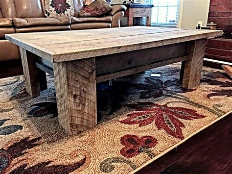 Coffee Table Wood Rustic Diy Furniture