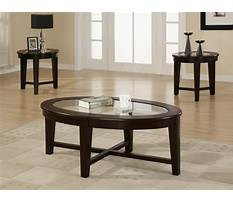 Best Coffee table and end tables for cheap