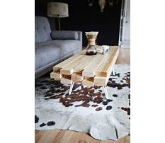 Best Coffee table build
