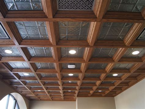 Coffered Ceiling Woodwork