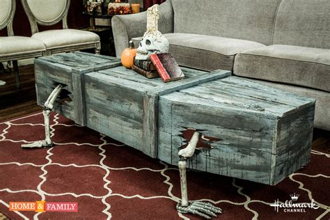 Coffin Coffee Table Diy Projects