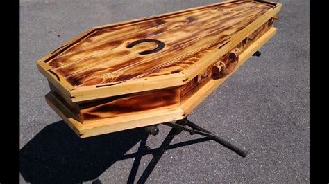 Coffin Diy Guitar Case Metal