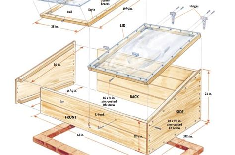 Cold Frame Plans Edu
