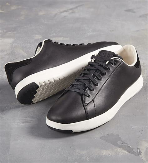 Cole Haan Black Leather Sneakers