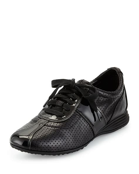 Cole Haan Bria Perforated Leather Sneakers