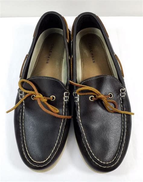 Cole Haan Leather Tie Sneakers