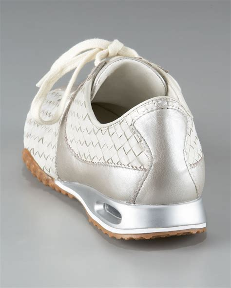 Cole Haan Oxford Sneaker Blue Laces Striped Women