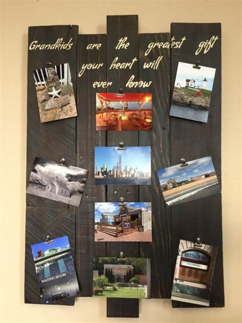 Collage Picture Frame Diy Wood
