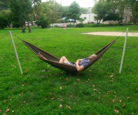 Collapsable Hammock Stand Diy