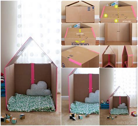 Collapsible-Cardboard-Playhouse-Diy