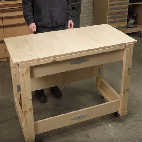 Collapsible-Workbench-Plans