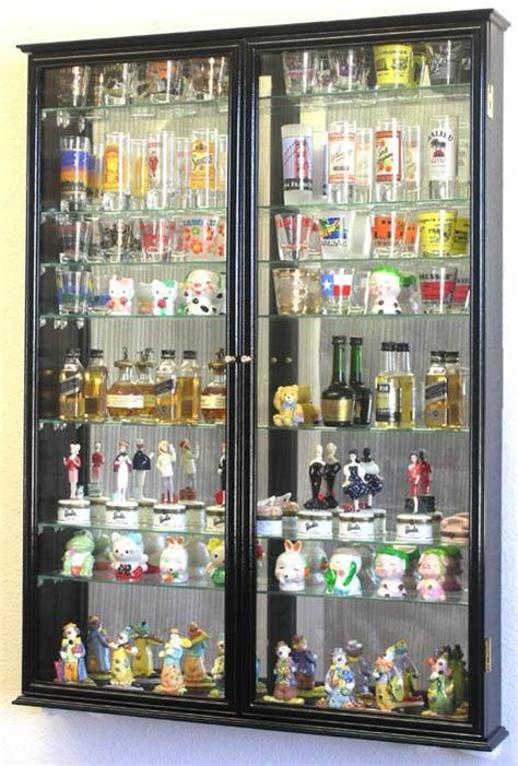 Collector Shot Glass Cabinets
