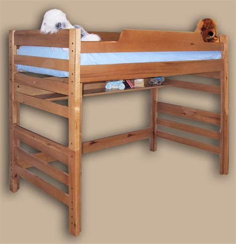 College Loft Bed Dimensions