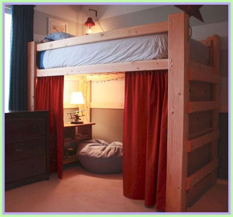 College Loft Bed Diy Dresser