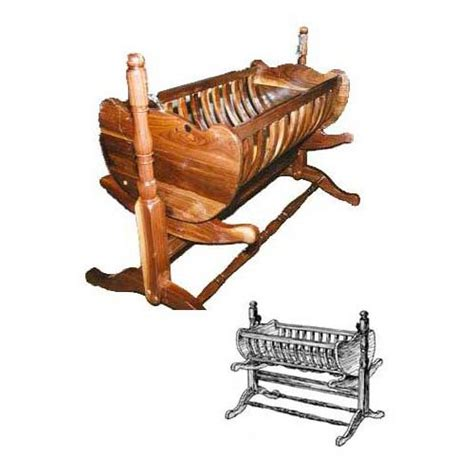 Colonial-Baby-Cradle-Plans