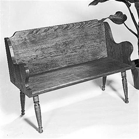Colonial-Bench-Plans