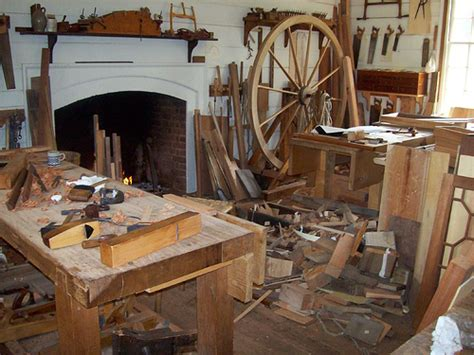 Colonial-Woodworking-Shop