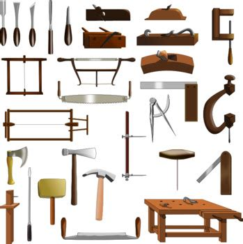 Colonial-Woodworking-Tools
