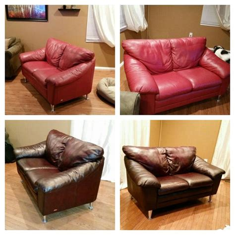 Color Change Leather Furniture Diy