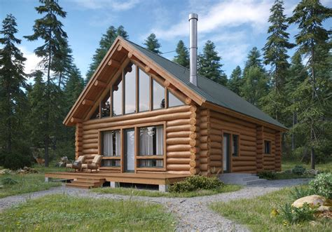 Colorado Log Cabin Kits Diy