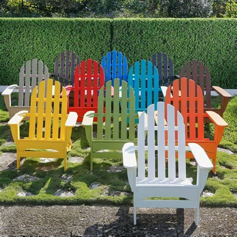 Colored-Palstic-Adirondack-Chair