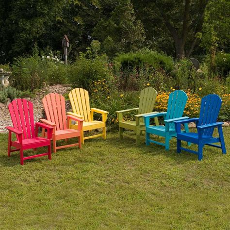 Colored-Resin-Adirondack-Chairs