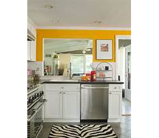 Best Colorful small kitchens