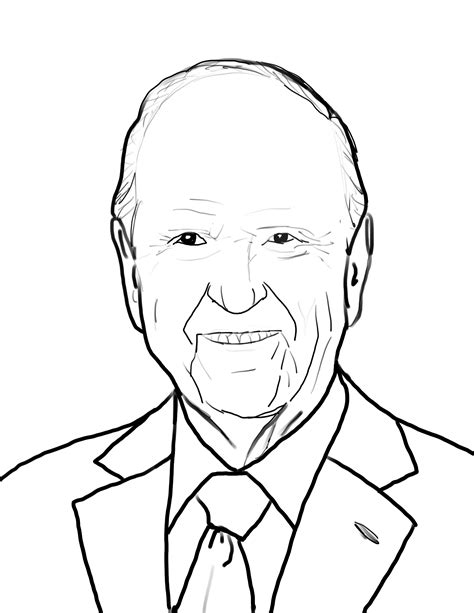 Coloring Page Russell Nelson