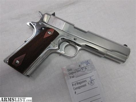 Colt 1911 1991a1 Government Model Pistol 38 Super 5in 9rd .