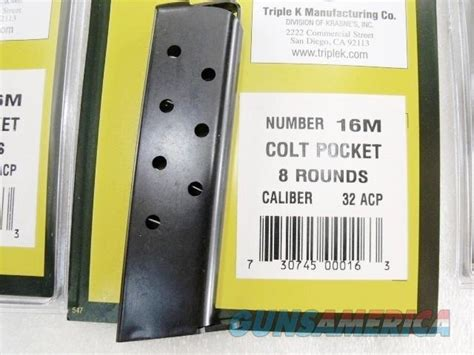 Colt 1903 Pocket Pistol 32 Acp Magazine The Firearms And Winchester Super X1 Tune Up Kit 4rd Brownells