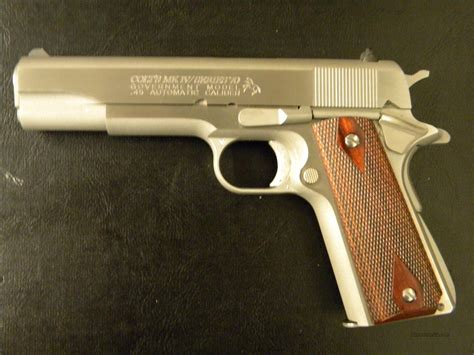 Colt 1911 Series 70 Reproduction And Kimber Brownells Esk Republika