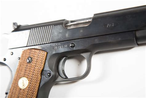 Colt Ace 22 Long Rifle Slide And Federal Ammunition 550 Long Rifle 550